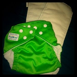 FuzziBunz one size Elite diaper